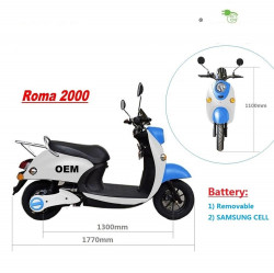 Electric-scooter-2000W-EEC-EURO4-lithium-removable c
